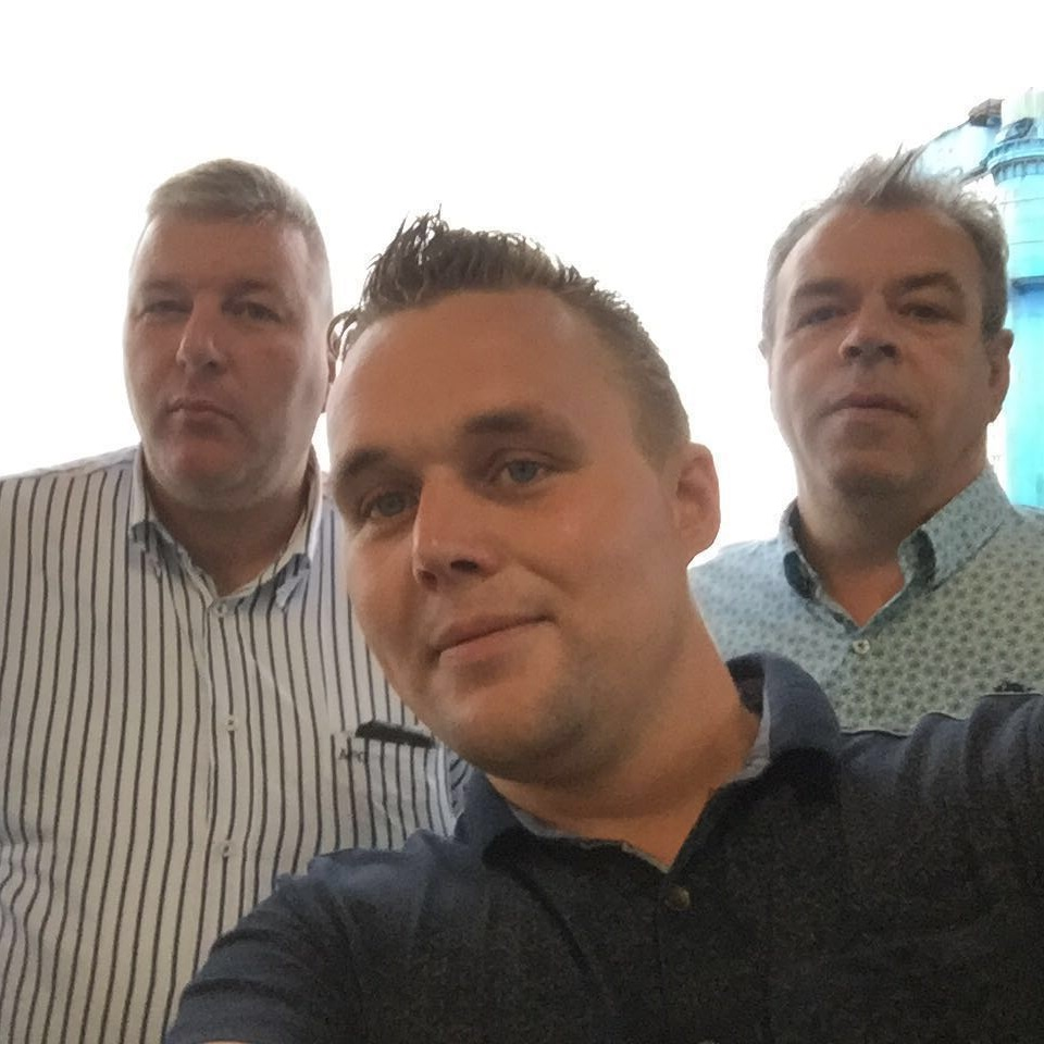 Albert Hakvoort & Frans Lucas Brouwer & Kees post